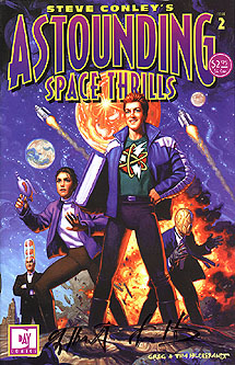 Astounding Space Thrills, Brothers Hildebrandt