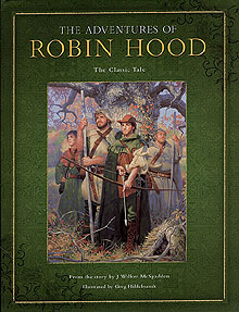 Adventures Of Robin Hood - unsigned, Greg Hildebrandt