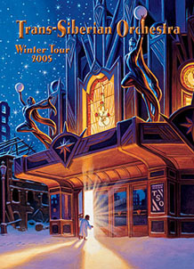 Trans-Siberian Orchestra 2005 Program - WEST, Greg Hildebrandt