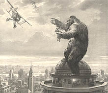King Kong - Empire State, Mario Larrinaga
