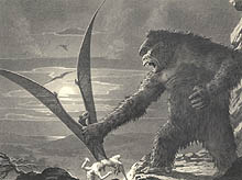Kong and Pterodactyl, Byron Crabbe