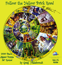 Follow The Yellow Brick Road - Puzzle, Greg Hildebrandt