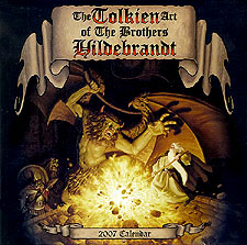 Greg and Tim Hildebrandt Their Tolkien Years - 2007 Calendar unsigned, Brothers Hildebrandt