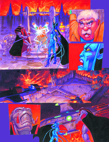 Emerald 7 - part 4 page 4, Brothers Hildebrandt