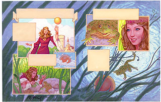 brothers grimm fairy tales the frog prince p12
