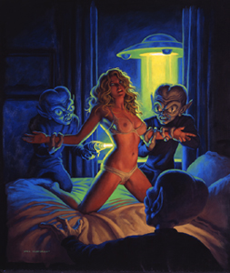 Alien Abduction - Photo Print, Greg Hildebrandt