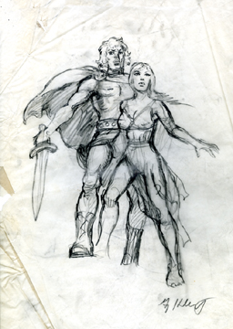 Clash of the Titans - character design, Greg Hildebrandt