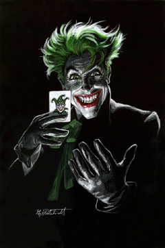 The Joker #3 - Black Board, Greg Hildebrandt