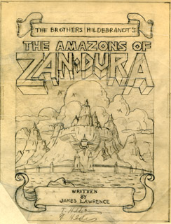 The Amazons of Zan Dura, Greg Hildebrandt