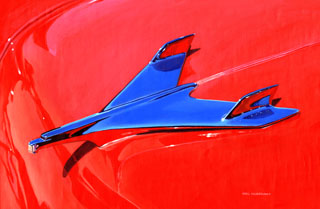 Reflections of the Past- 1956 Bel Air- 11x17 Giclee, Greg Hildebrandt