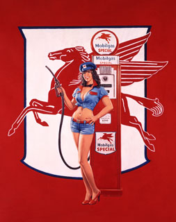 Fill Her Up - 17x25 GIclee, Greg Hildebrandt