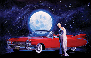 Moonlight Serenade - Photo Print - Large, Greg Hildebrandt
