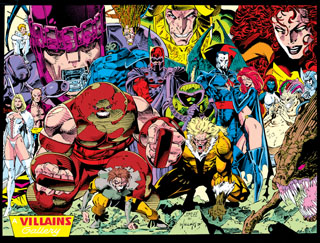 X-Men Villains, Jim Lee