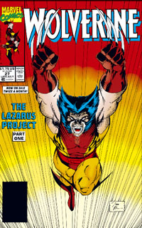 Wolverine 27, Jim Lee