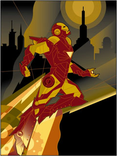 Iron Man Takes Flight, Mike Kungl