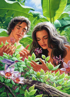In the Garden, Greg Hildebrandt
