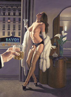 After Hours - 11x17 Giclee, Greg Hildebrandt