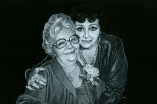 Grandma and Mom - Black Board, Greg Hildebrandt