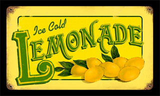 lemonade pts068 vintage tin sign cool stuff spiderwebart gallery