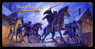 Black Riders - Vintage Tin Sign, Brothers Hildebrandt