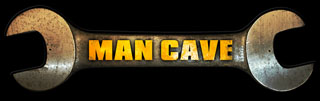 Man Cave Wrench PS014- Vintage Tin Sign - Shaped, PTS