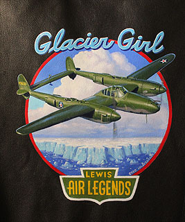 Lewis Air Legends - Glacier Girl - Jacket, Greg Hildebrandt