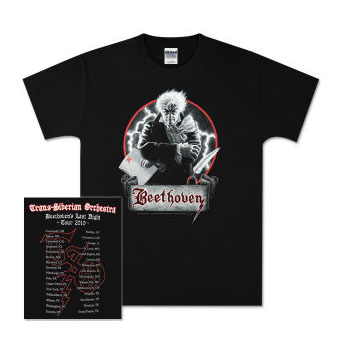 2010 TSO Beethoven Tour t-shirt - XL, Greg Hildebrandt