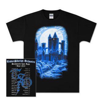 TSO Castle All Over Tour t-shirt - extra large, Greg Hildebrandt