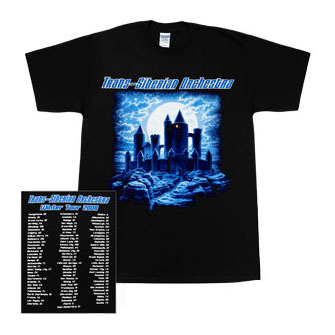 2008 TSO Night Castle Tour t-shirt - Large, Greg Hildebrandt
