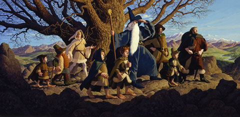 The Fellowship of the Ring - Giclee, Brothers Hildebrandt