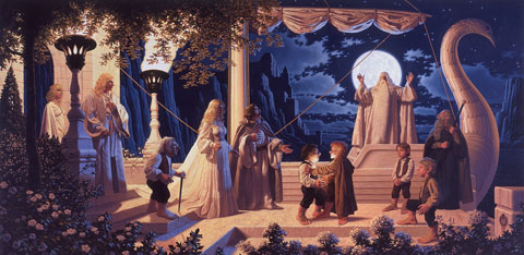 At the Grey Havens - Giclee, Brothers Hildebrandt