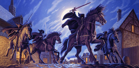 The Black Riders - Giclee, Brothers Hildebrandt