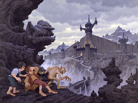 City of the Ringwraiths - Giclee, Brothers Hildebrandt