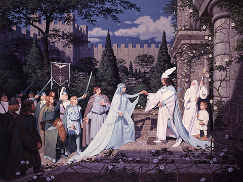 The Wedding of the King - Giclee, Brothers Hildebrandt