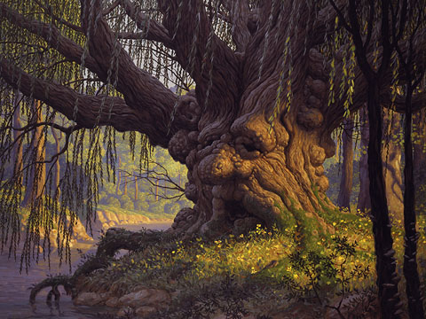 Old Man Willow - Giclee, Brothers Hildebrandt