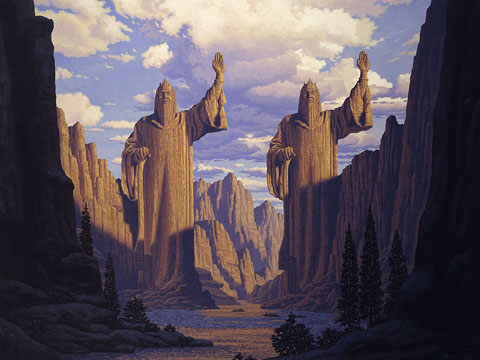 The Pillars of the Kings - Giclee, Brothers Hildebrandt