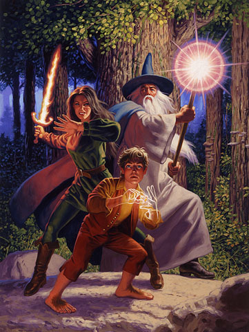 Arwen Joins the Quest - Giclee, Brothers Hildebrandt