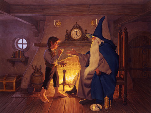 The One Ring - Giclee, Brothers Hildebrandt