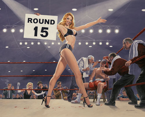 Round 15 - Photo Print - Large, Greg Hildebrandt