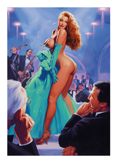 Emerald Evening - 24x36, Greg Hildebrandt