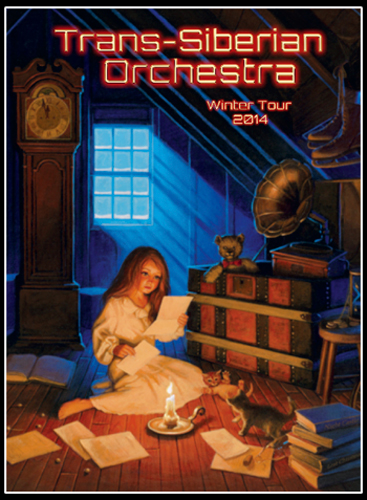 Trans-Siberian Orchestra 2014 Program Book - EAST, Greg Hildebrandt