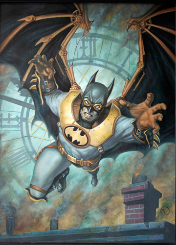 Steampunk Batman, Mark Romanoski
