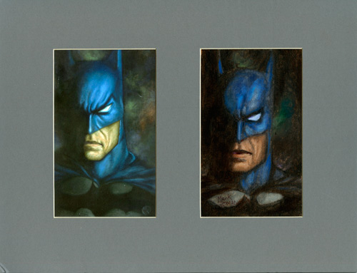 Batman - Study and Print, Mark Romanoski
