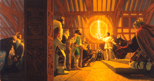 Arthur Lifts the Sword, Greg Hildebrandt