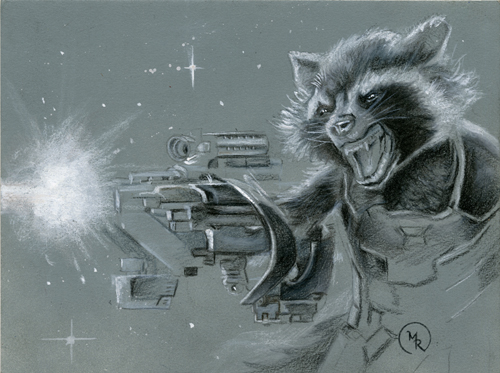Rocket Raccoon, Mark Romanoski