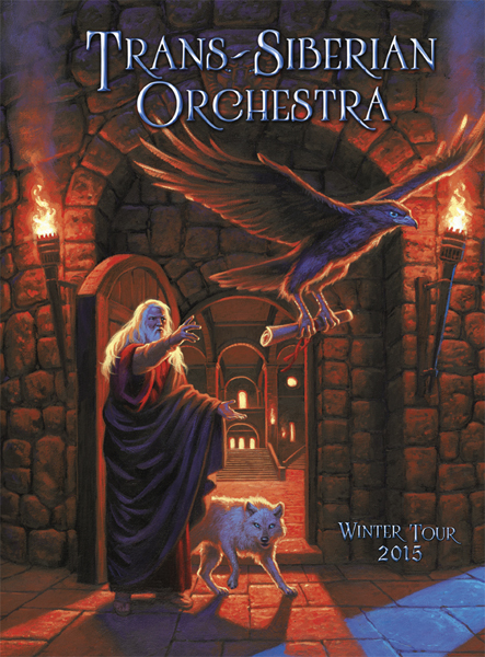 Trans-Siberian Orchestra 2015 Program - West, Greg Hildebrandt