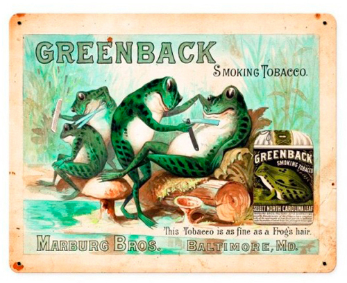 Greenback, SpiderWebArt Gallery