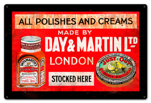 Day and Martin Shoe Polish, SpiderWebArt Gallery