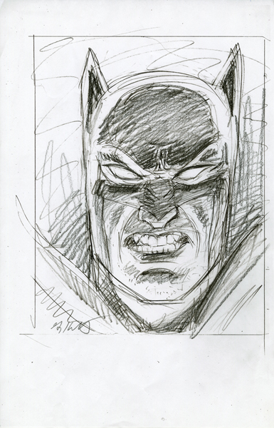 Batman Lighting Study #2, Greg Hildebrandt