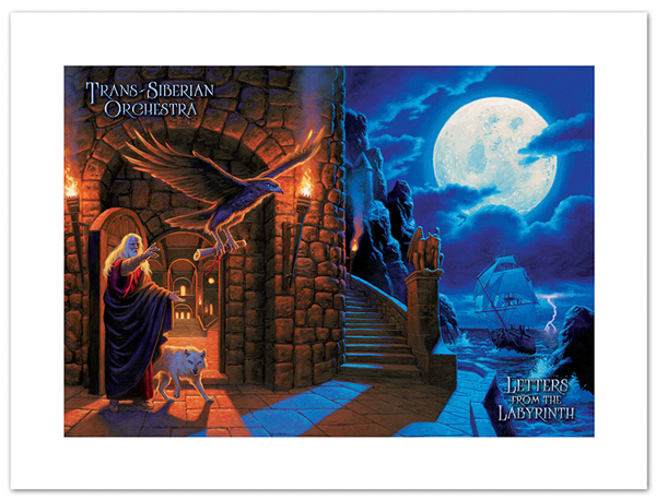 TSO - Letters from the Labyrinth - Album Poster, Greg Hildebrandt
